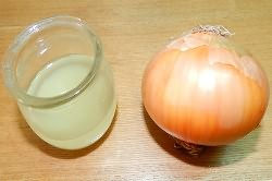 Луковый сок для снятия отека
