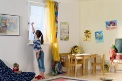 Регулярное проветривание детской комнаты