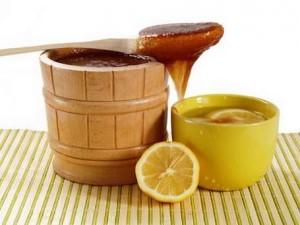 Мед с лимоном от кашля