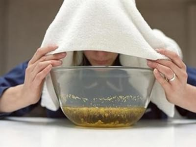 Ингаляции при насморке в домашних условиях