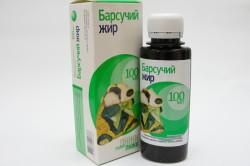 Барсучий жир для лечения пневмонии