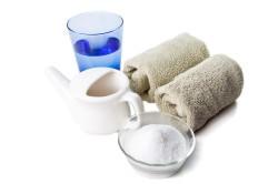 Применение солевых растворов на основе морской соли для промывания носа