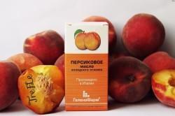 Польза масла персика при насморке у детей