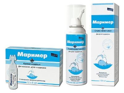 Капли Маример для носа при беременности