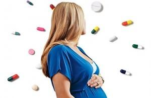 Таблетки при лечении кашля у беременных