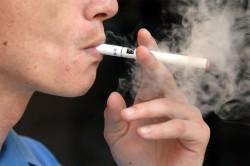 Курение - причина сухого кашля
