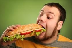 Вред переедания при лечении кашля