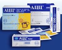 АЦЦ - лучшее лекарство от кашля