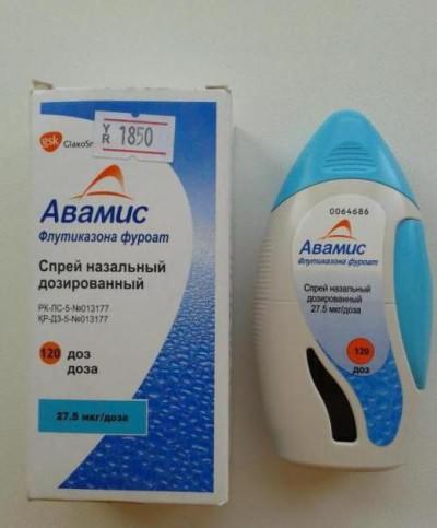 аллергический ринит лечение спрей
