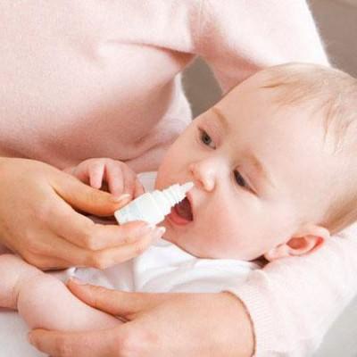 капли от насморка для детей до года