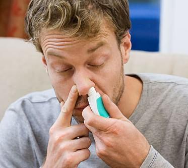 Капли для носа при гайморите снимают отек слизистой