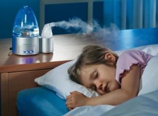 Применение увлажнителя воздуха