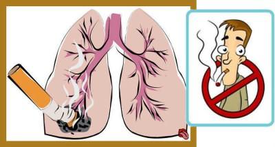 Сильный кашель от курения