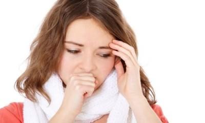 Кашель при симптомах гриппа