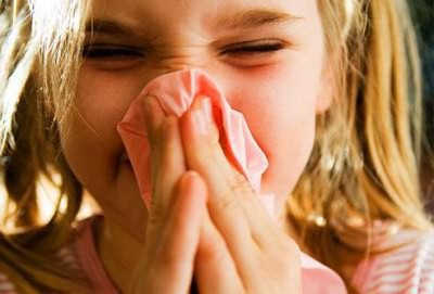 как пробить нос ребенку если капли не помогают