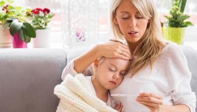 У ребенка мокрый кашель без температуры
