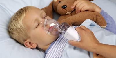 Ингаляция при помощи небулайзера ребенку с мокрым кашлем