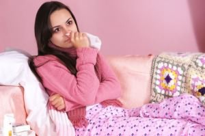 Слезотечение при насморке