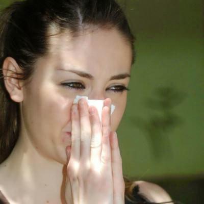 экссудативный отит среднего уха
