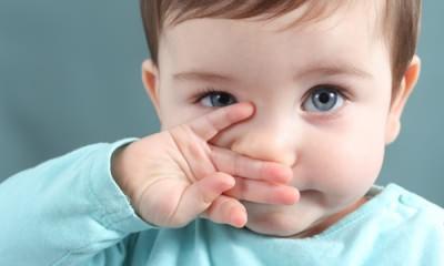 Насморк у детей первого года жизни