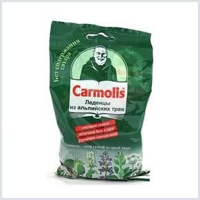 Кармолис избавит от болей в горле