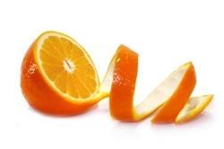 Шкурка апельсина для приготовления жженого сахара