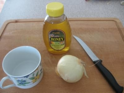 мед с луком от кашля для детей