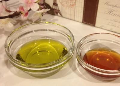 Мед с оливковым маслом от сухого кашля