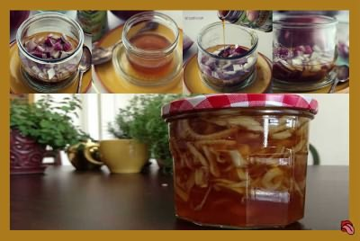 Лук с медом от кашля рецепт