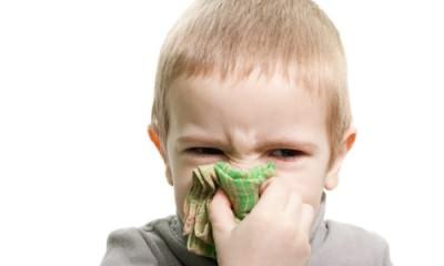 Проблема насморка у детей