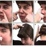массаж при гайморите