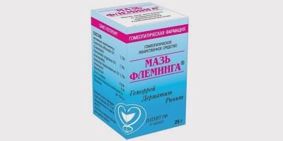 Мазь Флеминга для профилактики и лечения гриппа