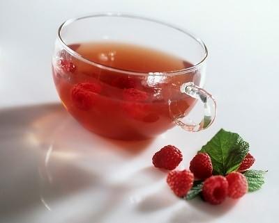 Чай с малиной от простуды
