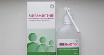 Спрей Мирамистин: использование при насморке