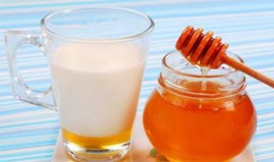 мёд как добавка к молоку от кашля