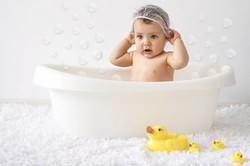 Купание ребенка во время насморка