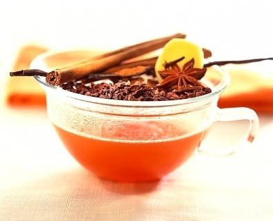 Имбирный чай против гриппа