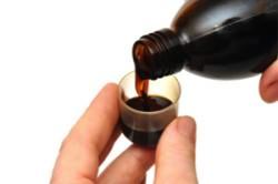 Прием отхаркивающих сиропов при мокром бронхите