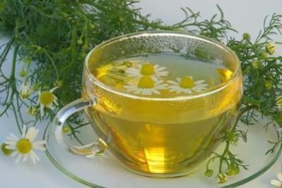 Травяной чай при простуде