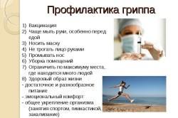Необходимая профилактика гриппа