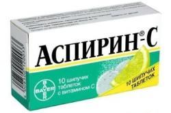 Аспирин при лечении бронхита