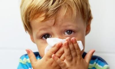 Проблема отека носа у ребенка
