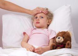 Первые признаки гриппа у детей