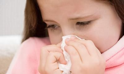Простуженный ребенок
