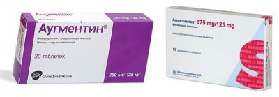 Антибиотики от простуды