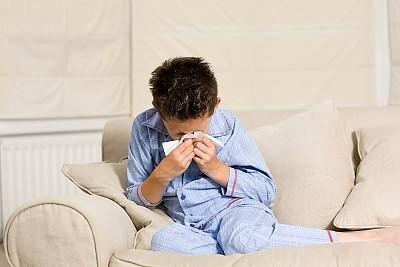 Как грипп распространяется среди детей?