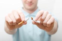 Отказ от курения при кашле