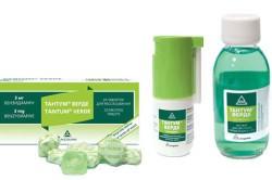 Тантум-верде для лечения горла
