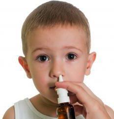 спрей от насморка для детей