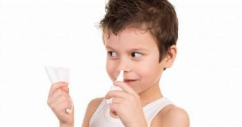 промывание носа ребёнка
